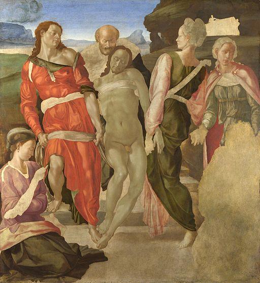 ミケランジェロ・ブオナローティ キリストの埋葬