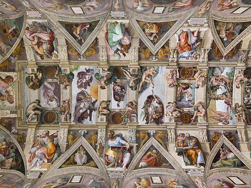 ミケランジェロ・ブオナローティ システィーナ礼拝堂天井画