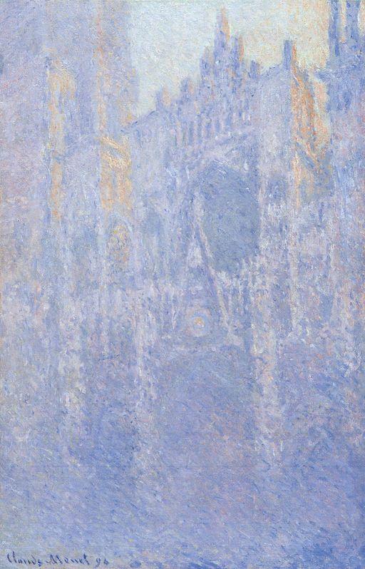 クロード・モネ ルーアン大聖堂、朝