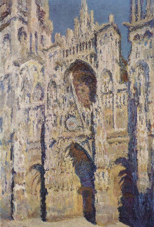クロード・モネ ルーアン大聖堂、昼