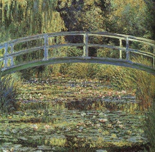 クロード・モネ 睡蓮の池と日本の橋