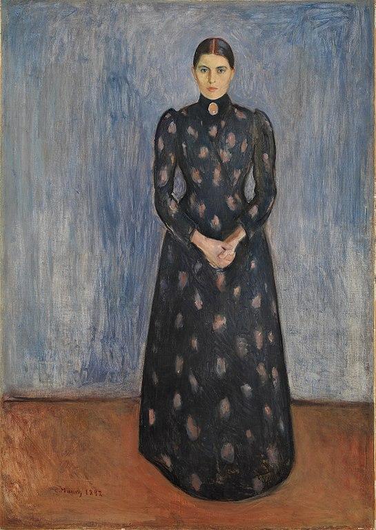 エドヴァルド・ムンク インゲルの肖像