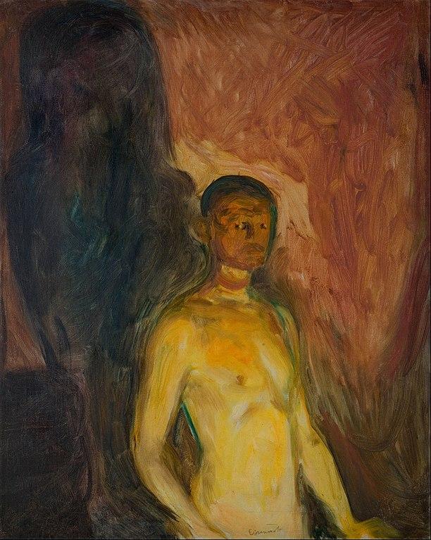 エドヴァルド・ムンク 地獄の自画像