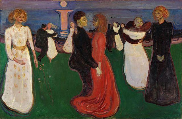 エドヴァルド・ムンク 生命の踊り