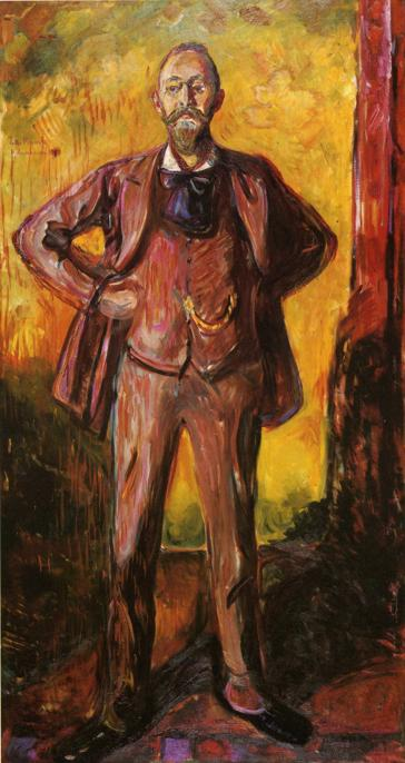 エドヴァルド・ムンク ダニエル・ヤーコブソン教授の肖像
