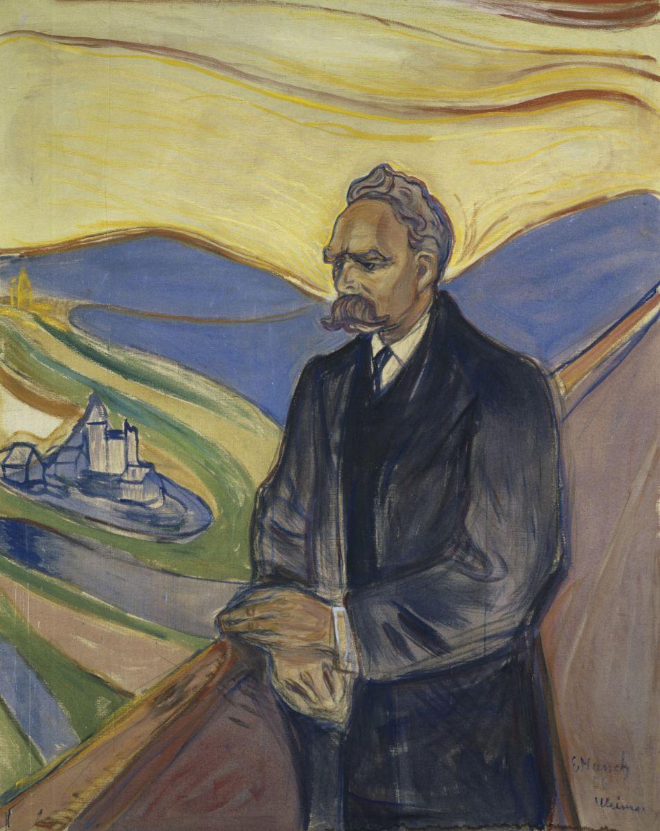 エドヴァルド・ムンク フリードリヒ・ニーチェの肖像