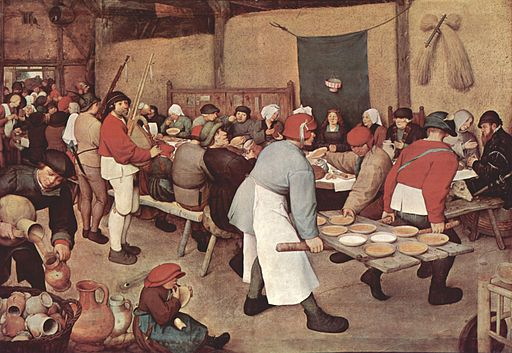 ピーテル・ブリューゲル 農民の婚宴