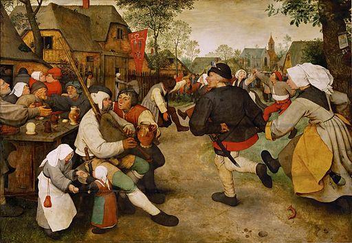 ピーテル・ブリューゲル 農民の踊り