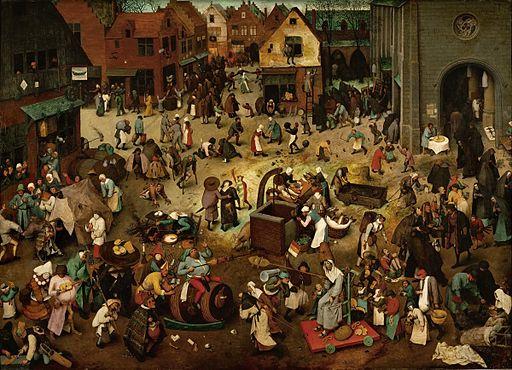 ピーテル・ブリューゲル 謝肉祭と四旬節の喧嘩
