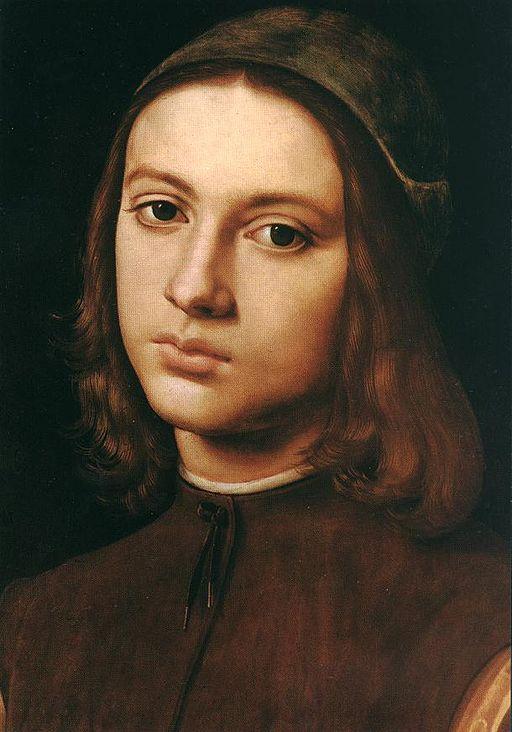 ピエトロ・ペルジーノ 少年の肖像
