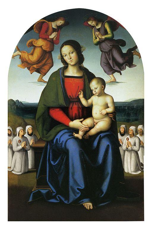 ピエトロ・ペルジーノ 慰めの聖母