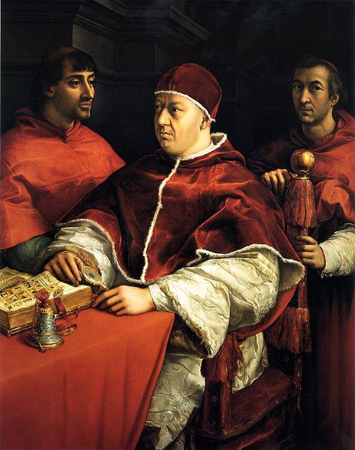 ラファエッロ レオ10世の肖像