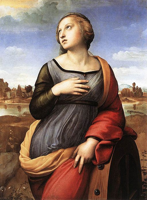 ラファエッロ アレクサンドリアの聖カタリナ