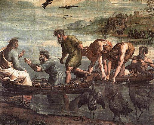 ラファエッロ 奇跡の漁り