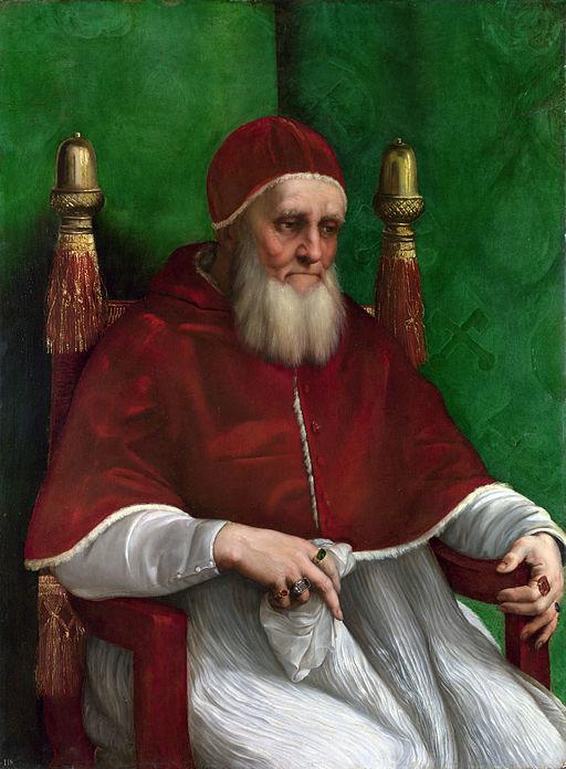 ラファエッロ ユリウス2世の肖像