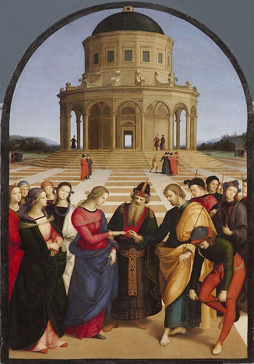 ラファエッロ 聖母の婚礼