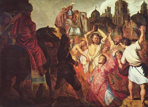 レンブラント・ファン・レイン 聖ステバノの殉教