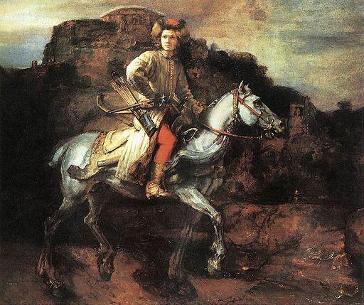 レンブラント・ファン・レイン ポーランドの騎手