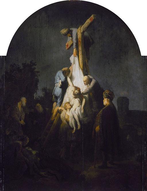 レンブラント・ファン・レイン 十字架降下
