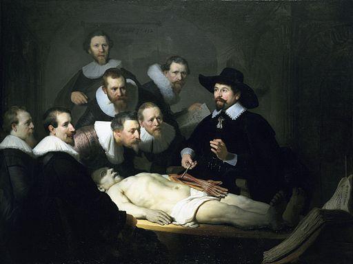 レンブラント・ファン・レイン テュルプ博士の解剖学講義