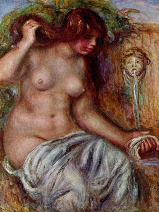 ピエール=オーギュスト・ルノワール 泉による女