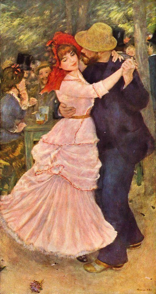 ピエール=オーギュスト・ルノワール ブージヴァルのダンス
