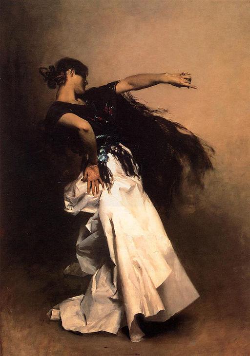 ジョン・シンガー・サージェント スペインの踊り子
