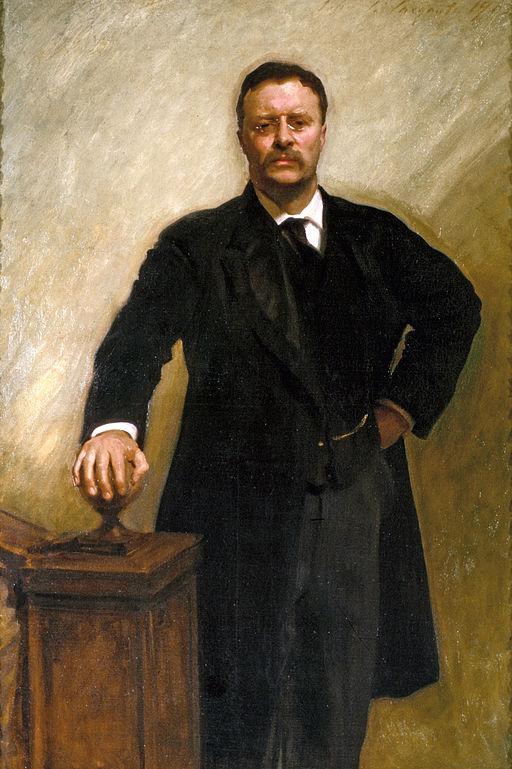 ジョン・シンガー・サージェント セオドア・ルーズベルト
