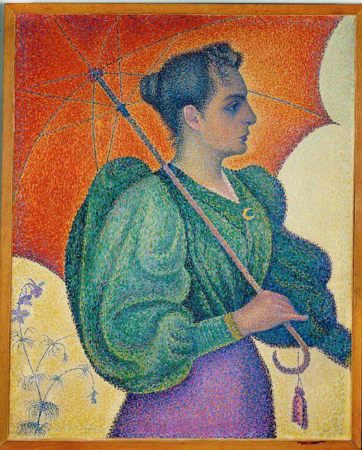 ポール・シニャック Woman with Umbrella