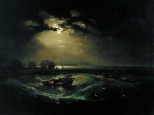 ジョゼフ・マロード・ウィリアム・ターナー 海の漁師たち