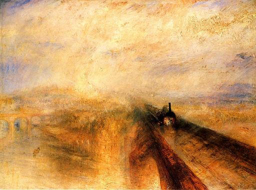 ジョゼフ・マロード・ウィリアム・ターナー 雨、蒸気、スピード-グレート・ウェスタン鉄道