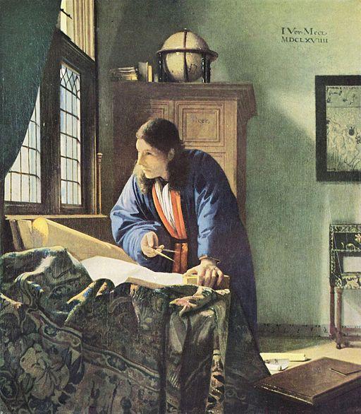 ヨハネス・フェルメール 地理学者