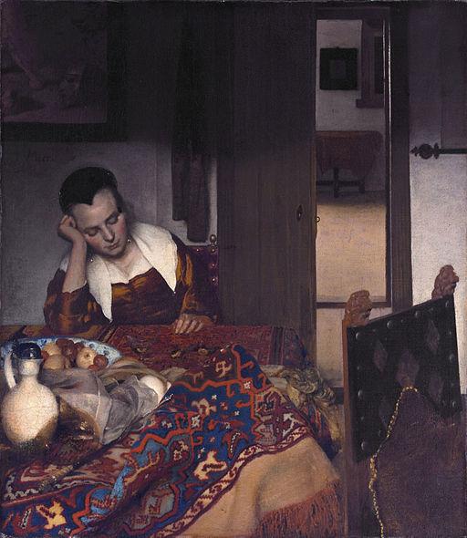 ヨハネス・フェルメール 眠る女