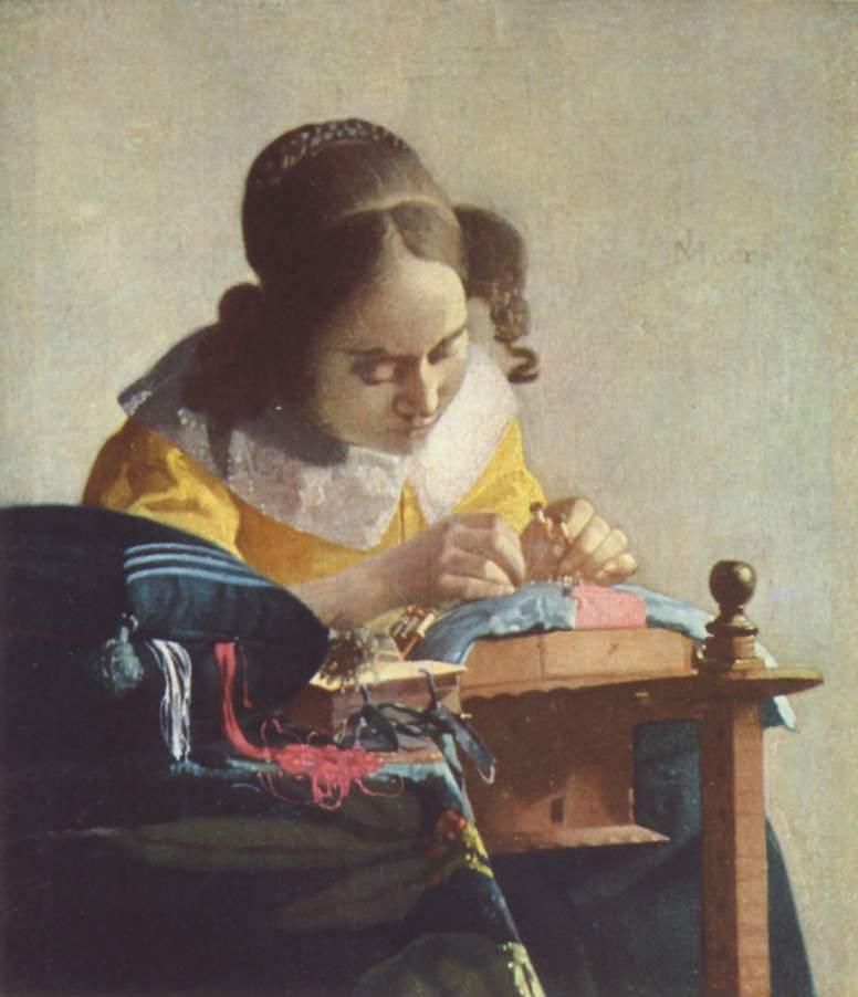 ヨハネス・フェルメール レースを編む女