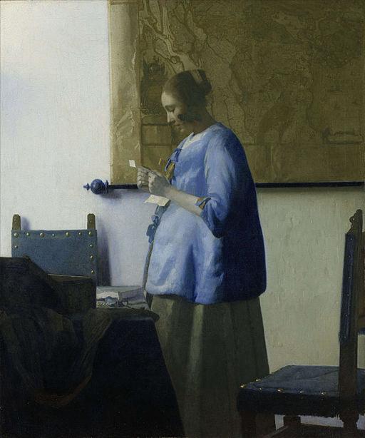 ヨハネス・フェルメール 青衣の女