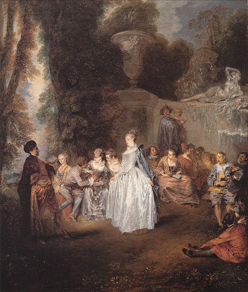 アントワーヌ・ヴァトー ヴェネツィアの祝宴