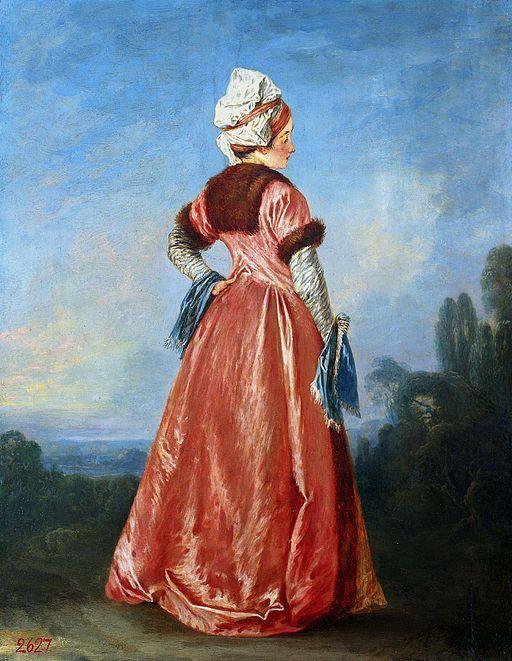 アントワーヌ・ヴァトー ポーランドの女性