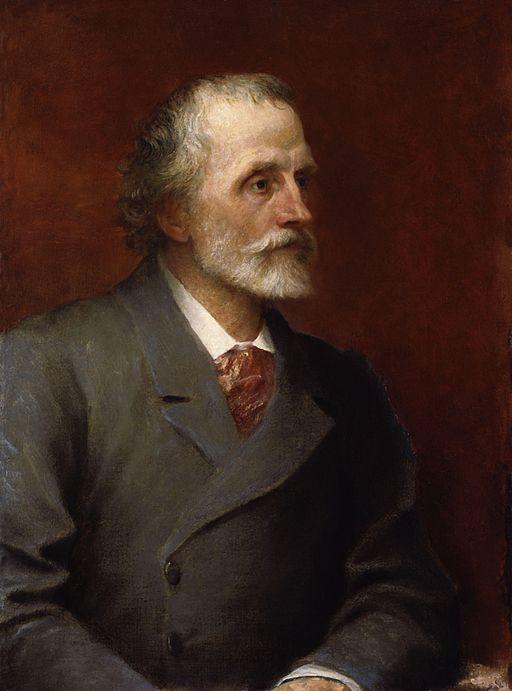 ジョージ・フレデリック・ワッツ ジョージ・メレディスの肖像